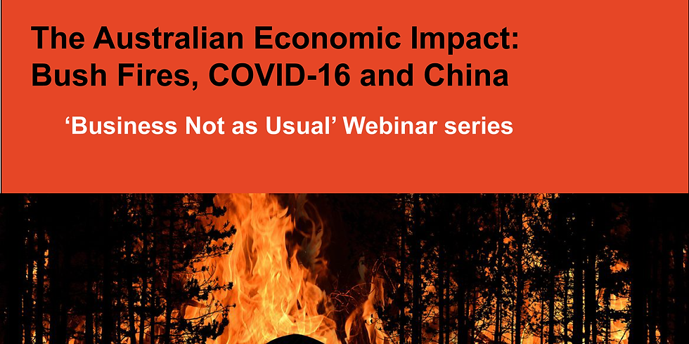 The University of Sydney Business School: 'Business Not as Usual' Webinar Series
