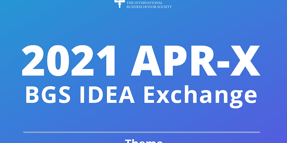 2021 APR-X: BGS IDEA Exchange - Alan Hargreaves (Australia)