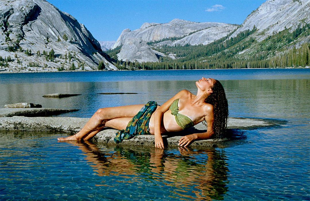 Dorit-Lombroso-woman-reclining-by-lake