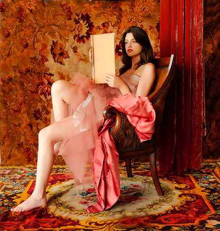 Dorit Lombroso Photography - After Balthus - After the Masters