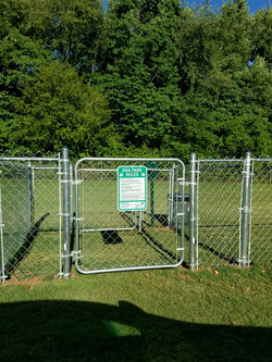 Dog Park enterance