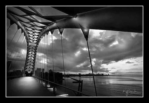 Humber Bay Bridge Toronto