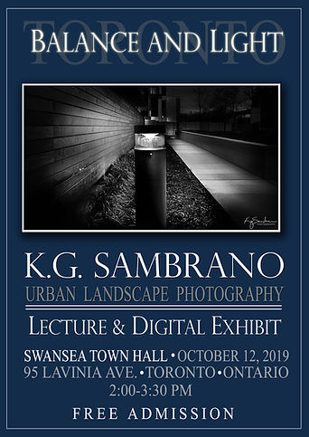 Photography Exhibit, k.g. Sambrano