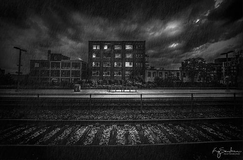 Summer Rain/Railway Tracks