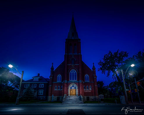 Early Morning Church, Toronto