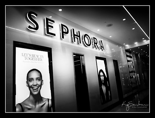 urban landscape Sephora model