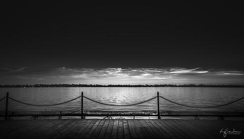 Ferry docks Toronto