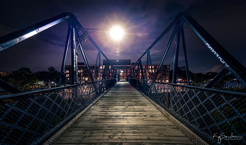Midnight Sun, Wallace Avenue Pedestrian Bridge
