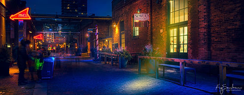 Distillery District (Almost New Year's Eve)