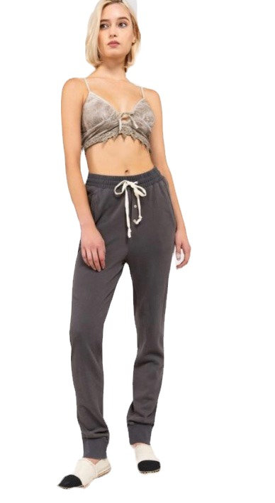 Button Fly Jogger Pant