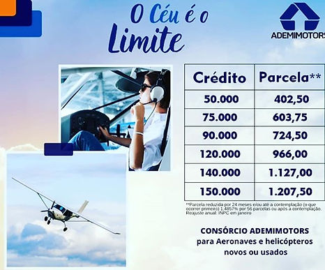 CONSORCI AVIÃO HELICOPERO ADEMIMOTORS