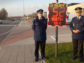 Bèlgica - viasis PLUS mostra l'import de la multa que es paga