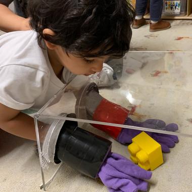 Kids Avenue daycare calgary science activity 2