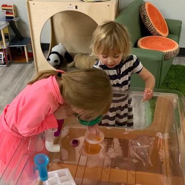 kids avenue dayare calgary water table