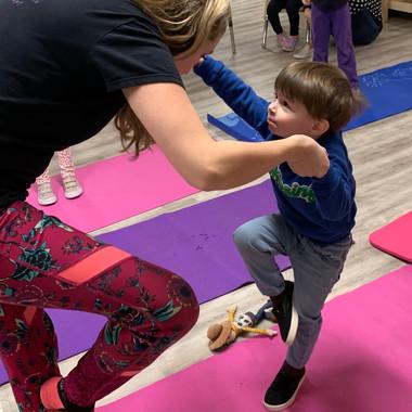 kids avenue dayare calgary yoga class