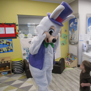Kids Avenue Daycare Calgary Easter Bunny Visit