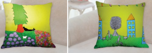 story telling pillow trees