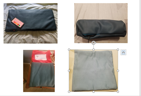 All types of Vibroacoustic Therapy pillows