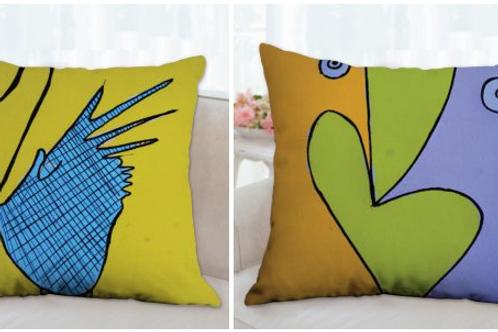 Birds pillow