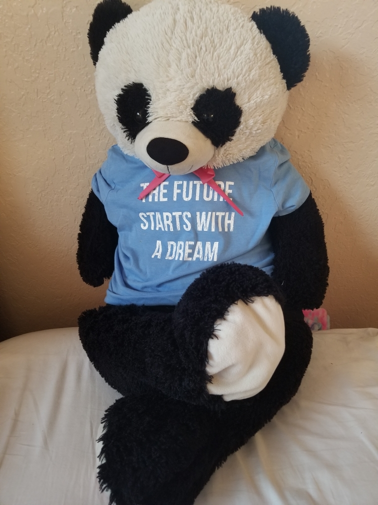 Vibroacoustic therapy panda
