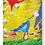 Thumbnail: designed birds on canvas