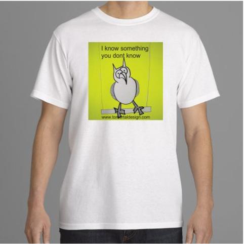 חולצת גבר ינשוף