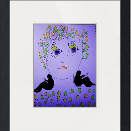 עבודת אומנות של תומר טל מודפס בפוסטר