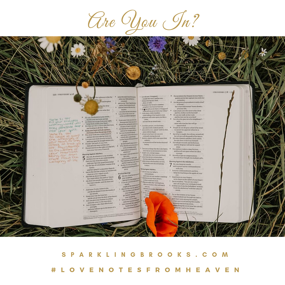 Love Notes from Heaven - Are You In?