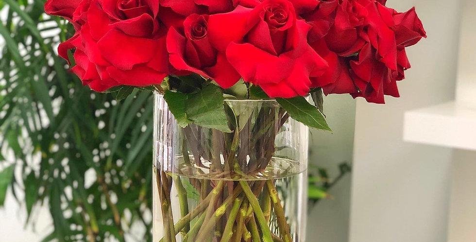 Reflexed Roses