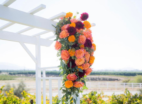 Florals for a Temecula Valley Winery Wedding