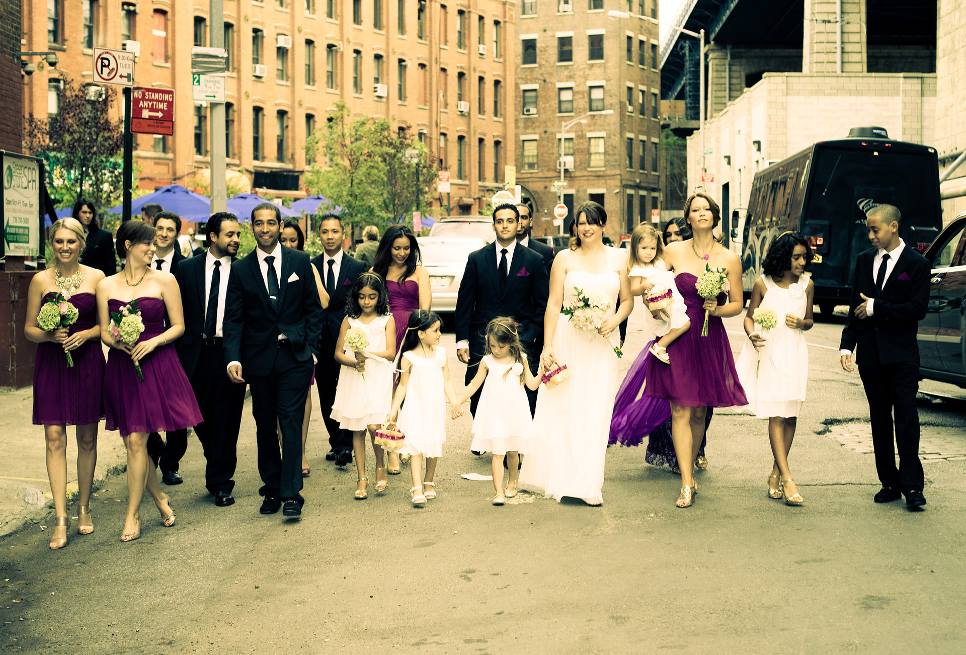 New York City wedding photo