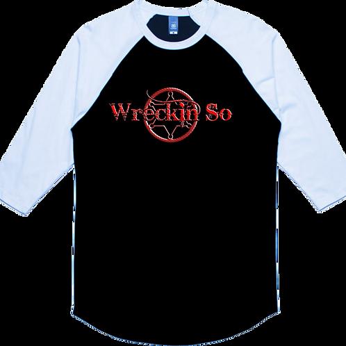 Wreckin' So Baseball Shirt
