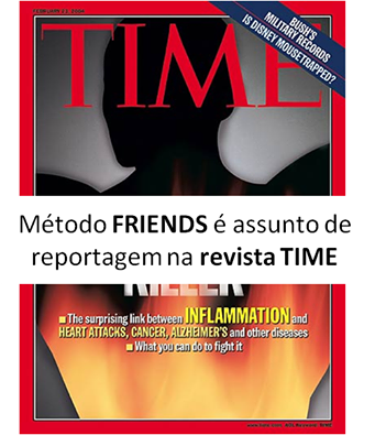 Método FRIENDS (inteligência emocional e social) na revista TIME!