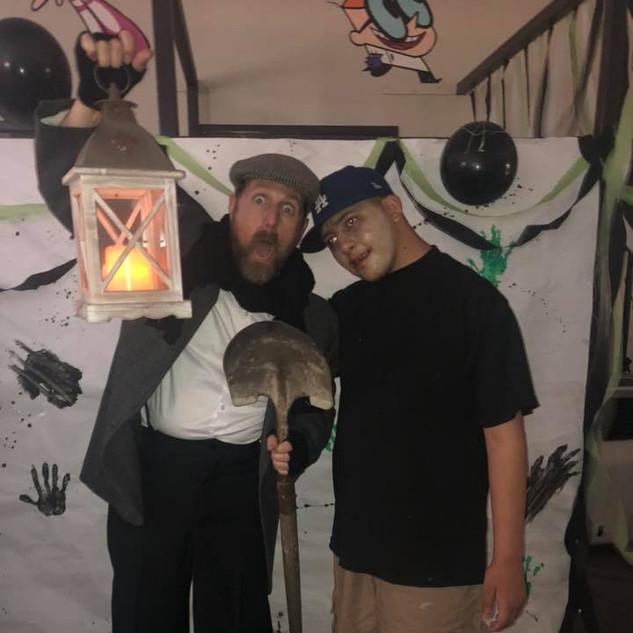 Vincent and Mr. Jason