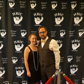 Executive Director Jason Cecil and his wife