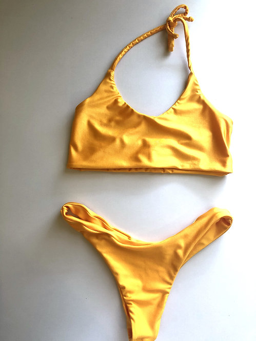 Yellow Two Piece