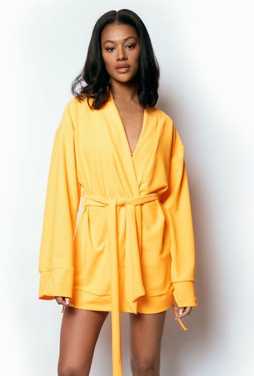 Orange Citrus Robe