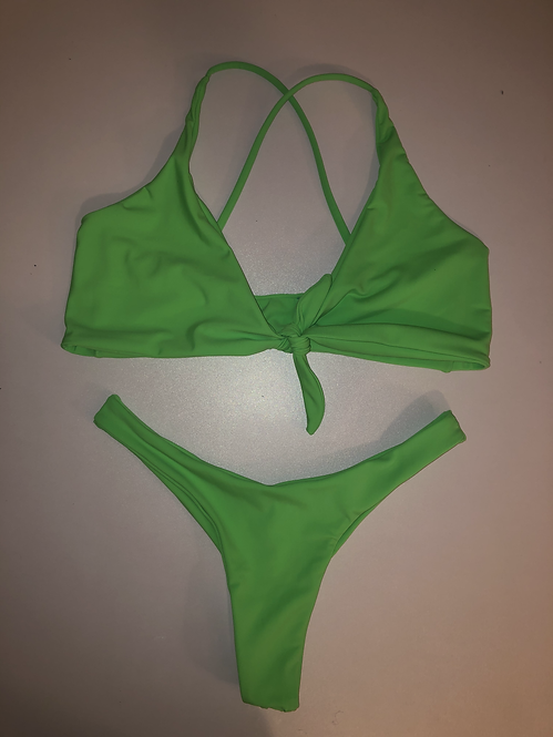 Green Two Piece