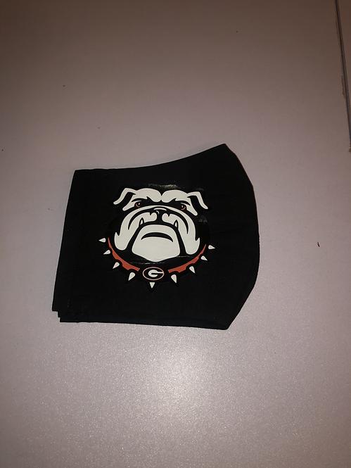 Georgia Bulldog Mask