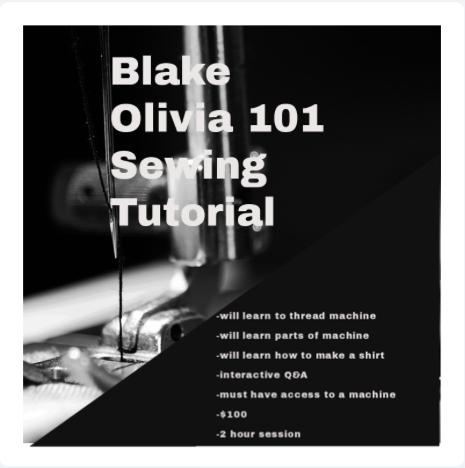 Sewing 101 Tutorial