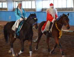 Новогодний карнавал. Демченко Даниил и Терехина Елизавета