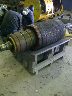Trench Workbench Holding Heavy Equipment
