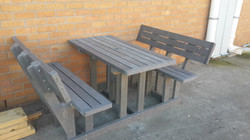 Deluxe 6 Seater Picnic Bench Set