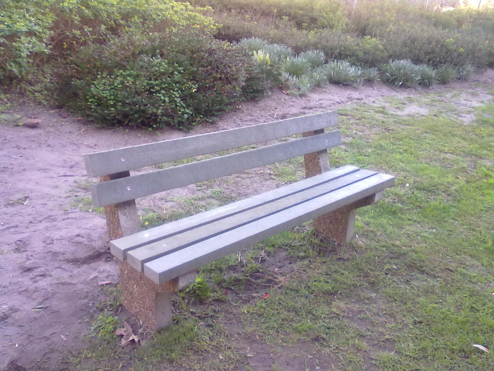 Park bench retrofit