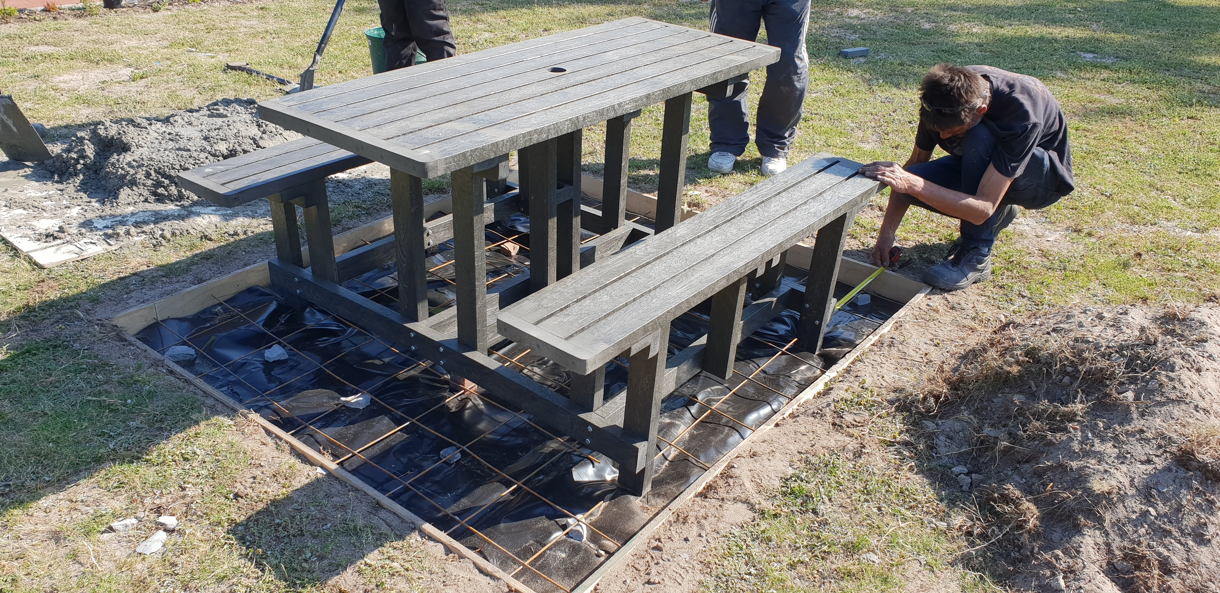 6 Seater Picnic Bench Set
