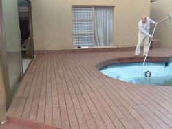 Poolside Decking