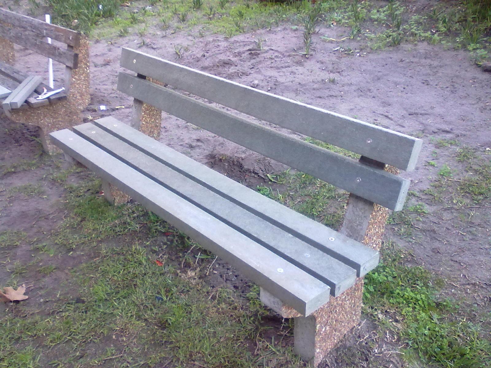 Park bench retrofit