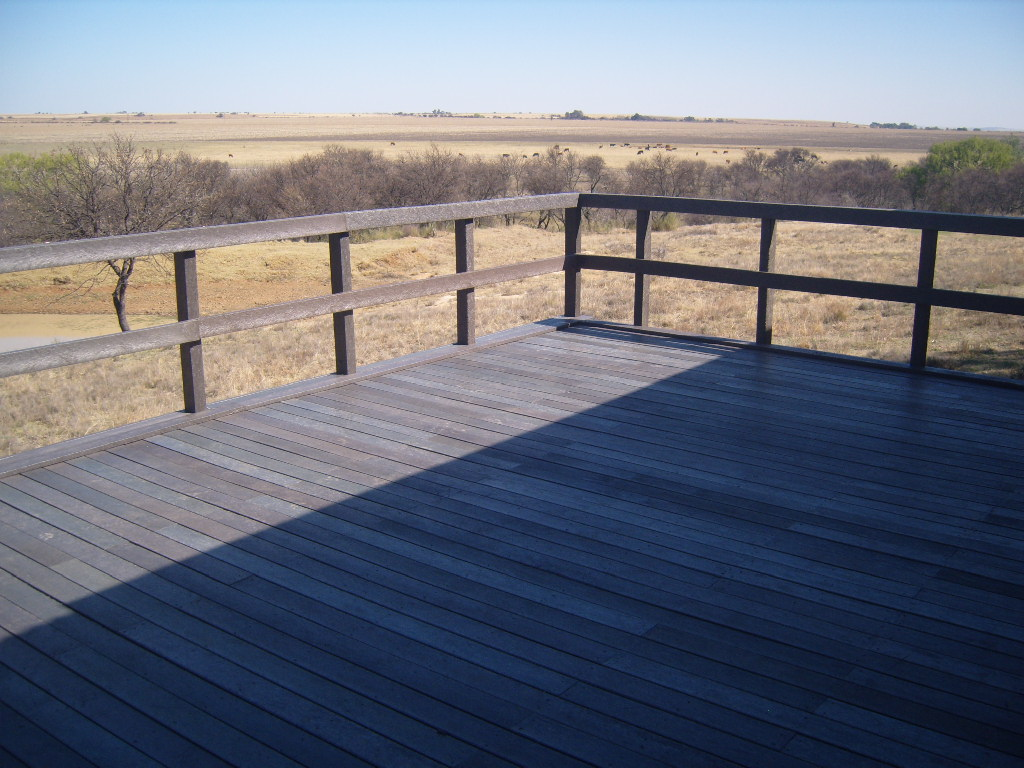 Decking and Bulstrading