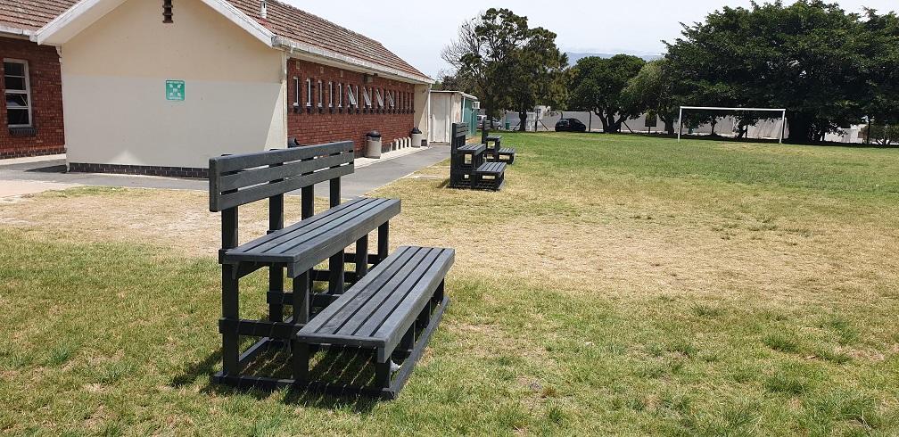 2-Tier Stadium Benches