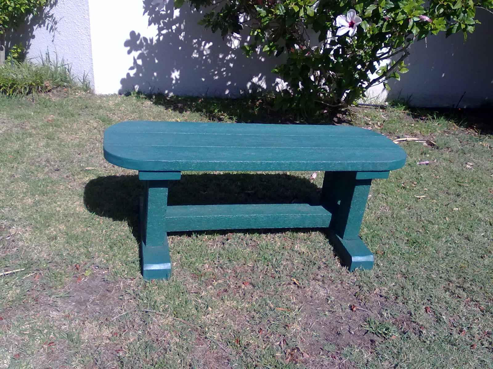Rounded Small Bench